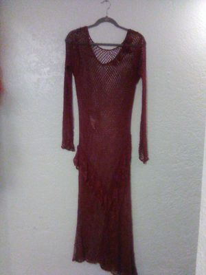 Fish Net See Through Long Dress for Sale in Albuquerque, NM