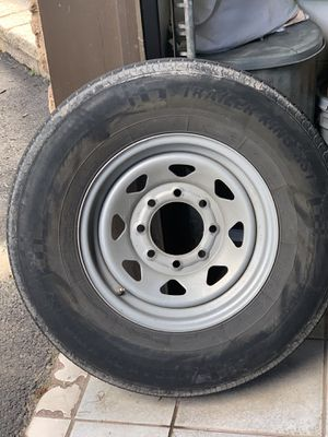 8 lug trailer tires and wheels for Sale in Hammonton, NJ