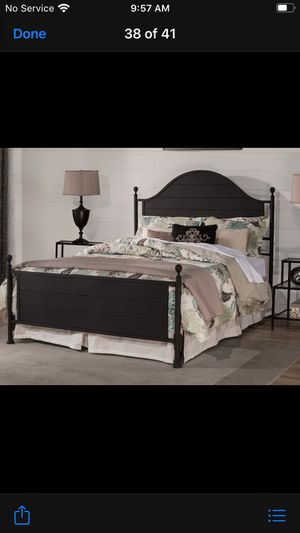 New King size bed frame for Sale in Fresno, CA