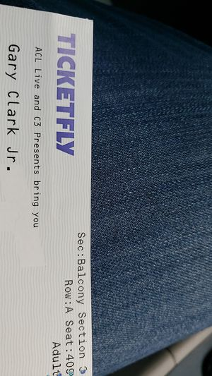 Gary Clark Jr. Tickets for Monday 12/3 for Sale in Austin, TX