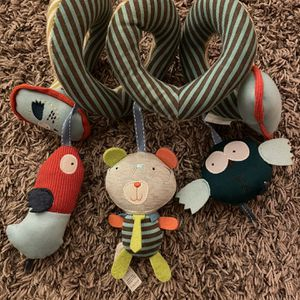 Hanging Toys for Car Seat Crib Mobile, Infant Baby Spiral for Sale in Conshohocken, PA