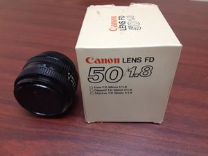 Cannon 50mm lens! Very sharp. Like new. $70 o.b.o for Sale in Tampa, FL