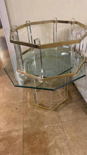 Two living room glass coffee/end tables for Sale in Aventura, FL