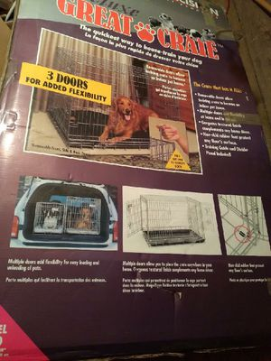 Dog crate for Sale in West Seneca, NY