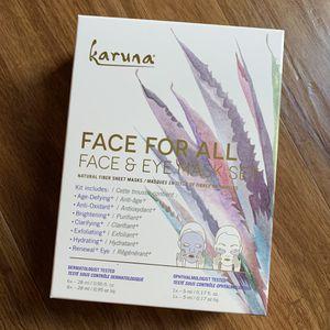 KARUNA FACE FOR ALL FACE & EYE MASK SET 🧖🏼♀️🎭 for Sale in Oceanside, CA