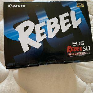 Cannon Rebel DSLR Camera for Sale in Half Moon Bay, CA