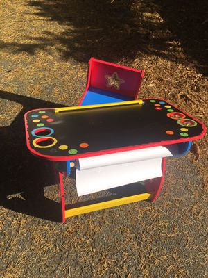 Kids art table/ desk with chair for Sale in Shoreline, WA