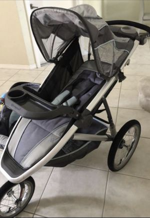 Stroller, baby swing, activity gym & hands free diaper pail( $120.00 everything!!) for Sale in Miami, FL