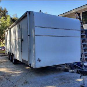2006 Aztec 24' Enclosed Trailer Triple Axle 9999 GVW $7500 for Sale in Allen, TX