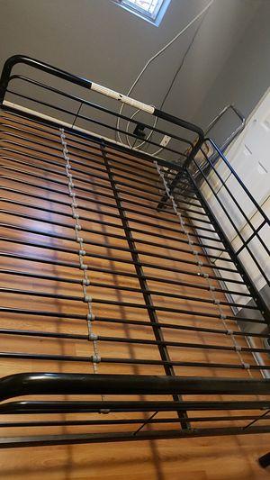 Full metal bed frame for Sale in Norwalk, CA