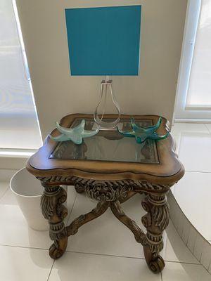 2pc Blue lamp for Sale in Miami, FL