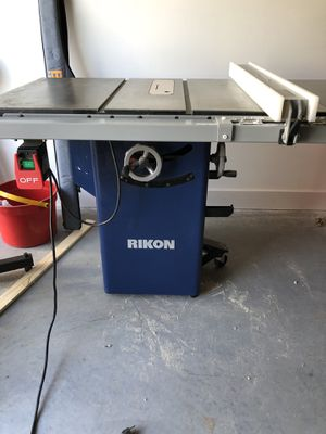 Rikon Table Saw for Sale in Greenville, SC