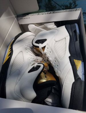 Retro Air Jordan 5 Gold Medal for Sale in Nashville, TN