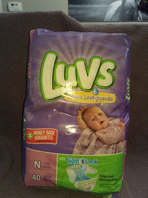 Pack of newborn diapers for Sale in Lawrenceville, GA