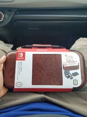 Nintendo switch travel case ZELDA edition for Sale in West Jordan, UT