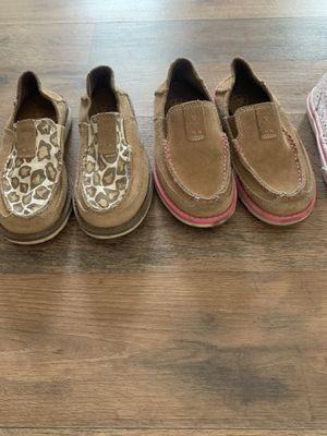 Ariat shoes/vans girls for Sale in Waterford, CA