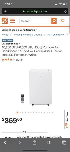 LG portable Air Conditioner for Sale in Tamarac, FL