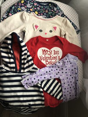 Baby Girl Bundle 0-12 months for Sale in Haslet, TX