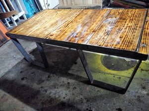 Industrial coffee table heavy duty for Sale in Quincy, IL