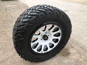 "Like new 20"" Fuel Rims And 35x12.50r20 Tires 5 Lug Wheels 20 inch Fuels Rines y llantas 2016 Jeep 2017 JK 2015 2016 wrangler 2014 Jku 2013 rines 2011 for Sale in Dallas, TX"