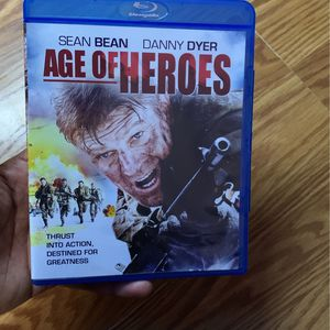 Age Of Heroes Blu-ray for Sale in Palmdale, CA