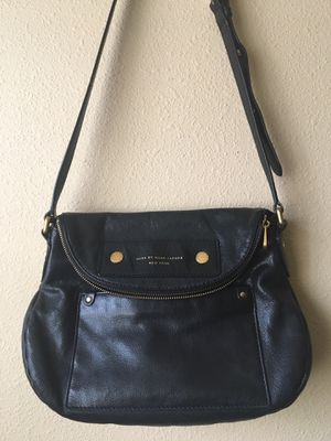 Marc by Marc Jacobs Natasha Leather Crossbody Bag Black for Sale in Seattle, WA