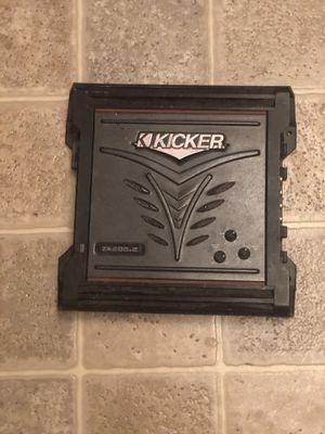 Kicker ZX 200.2 amplifier for Sale in Cranston, RI
