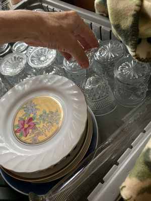 BEAUTIFUL GLASS AND COLLECTIBLES DISHES GROUP for Sale in Orlando, FL