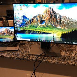 Dell ultrasharp 25in for Sale in Dallas, TX