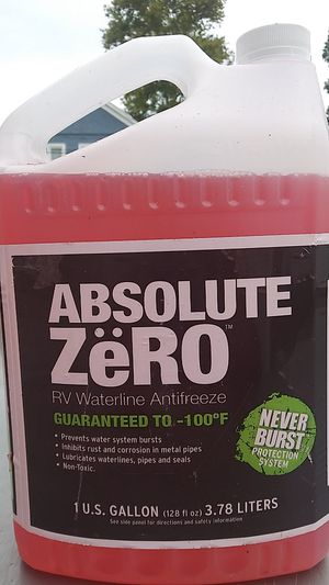 Absolute Zero RV antifreeze (16 bottles) for Sale in Norfolk, VA