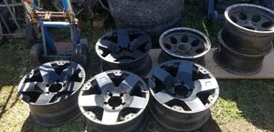 """Monster rims 17"""" for toyota tundra for Sale in Chula Vista, CA"""