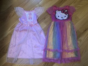 Toddler girl long nightgowns for Sale in Palos Hills, IL