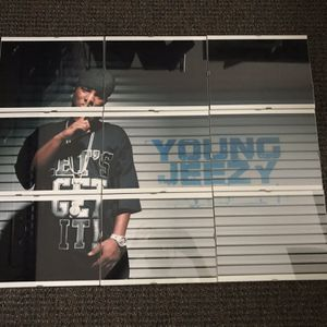 Young Jeezy Framed Picture - 9 Piece Wall Art for Sale in Newington, CT