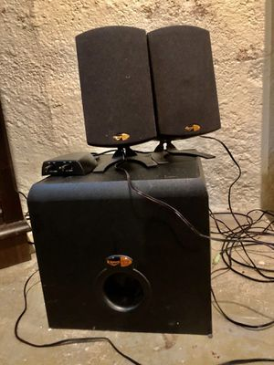 Speakers klipsch THX for Sale in Portland, OR