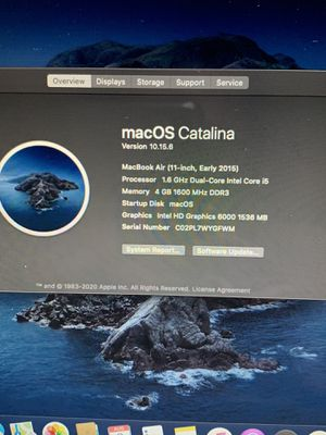 2015 MacBook Air 11 for Sale in Sacramento, CA