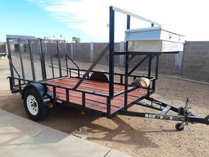 Utility trailer 77x10 for Sale in Maricopa, AZ