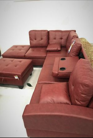 Special for Black Friday ‼ SALES SPECIAL] Pablo Red Sectional | U5700 for Sale in Columbia, MD