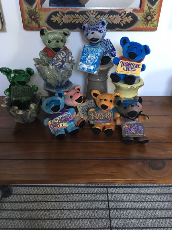 Grateful Dead Collectable Bears