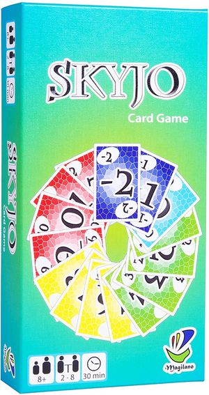 Magilano SKYJO The Ultimate Card Game for Kids and Adults. The Ideal Board Game for Funny, Entertaining and exciting Playing Hours with Friends and F for Sale in Houston, TX