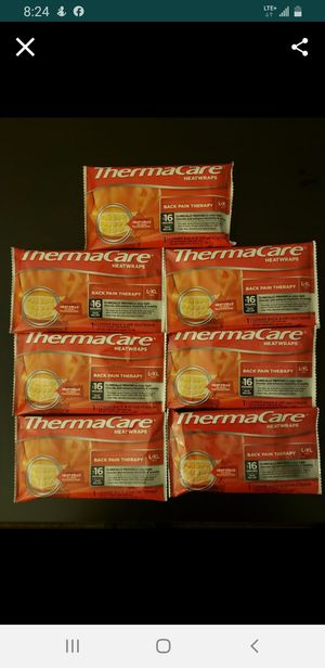 ThermaCare Heatwraps Back Therapy XL (7 available) Pick Up Northside for Sale in Chicago, IL