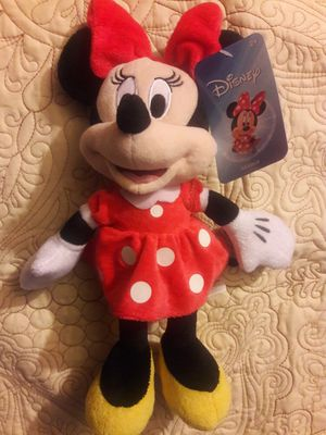 MINNIE MOUSE PLUSH (12-13 INCHES TALL) $10 EACH ✔✔✔PRICE IS FIRM✔✔✔ for Sale in Cudahy, CA
