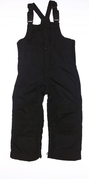 Baby Gap Warmest Snow Bib Overalls size 3T black ZIPPER LEGS for Sale in Tacoma, WA