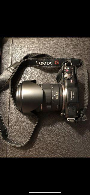Panasonic Lumix Camera, Lens, and Case for Sale in Alexandria, VA