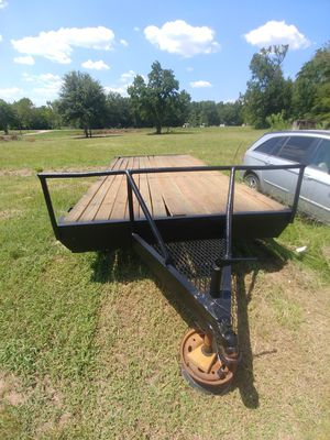 8.5 ft by 20 Ft Trailer for Sale in Lufkin, TX