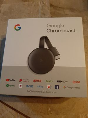 Google Chromecast 2017 3rd Gen Model for Sale in Stockbridge, GA