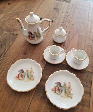 Peter rabbit tea set for Sale in Irvine, CA