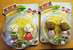 Lil Woodzeez Holiday Characters NEW for Sale in Boca Raton, FL