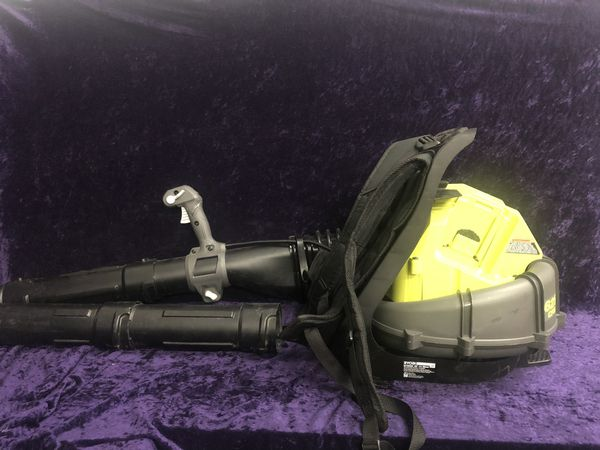 💥🧰🛠Ryobi 40v back pack blower(tool only) only $80 this week!💥🧰🛠