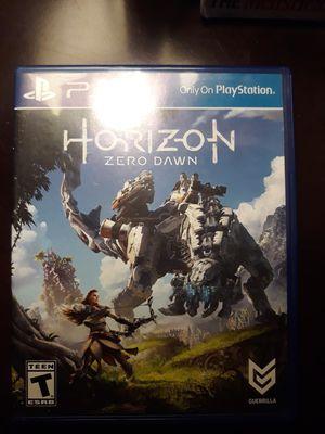 PS4 game HORIZON ZERO DAWN for Sale in Chula Vista, CA