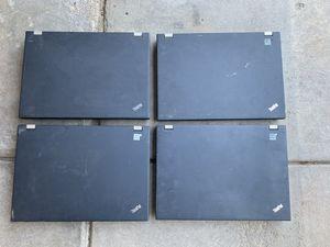 Lot of 4 Lenovo T410 laptops for Sale in Aurora, CO